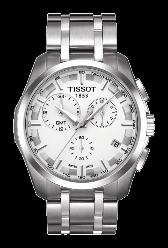 часы Tissot TISSOT COUTURIER QUARTZ GMT
