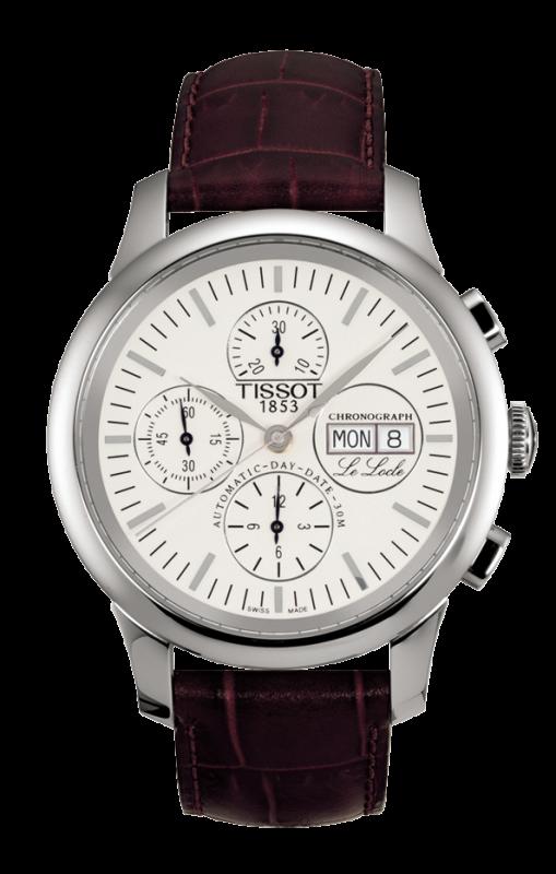 часы Tissot TISSOT LE LOCLE AUTOMATIC CHRONOGRAPH VALJOUX