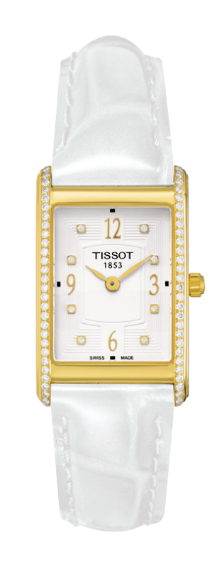 часы Tissot TISSOT NEW HELVETIA LADY DIAMONDS