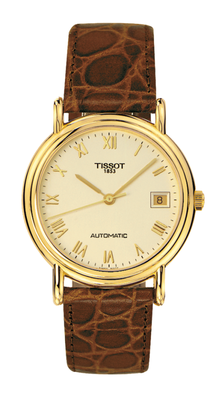 часы Tissot TISSOT CARSON FULL CASE BACK AUTOMATIC