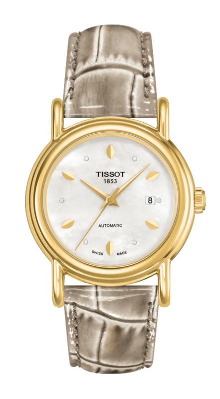 часы Tissot TISSOT CARSON LADY AUTOMATIC