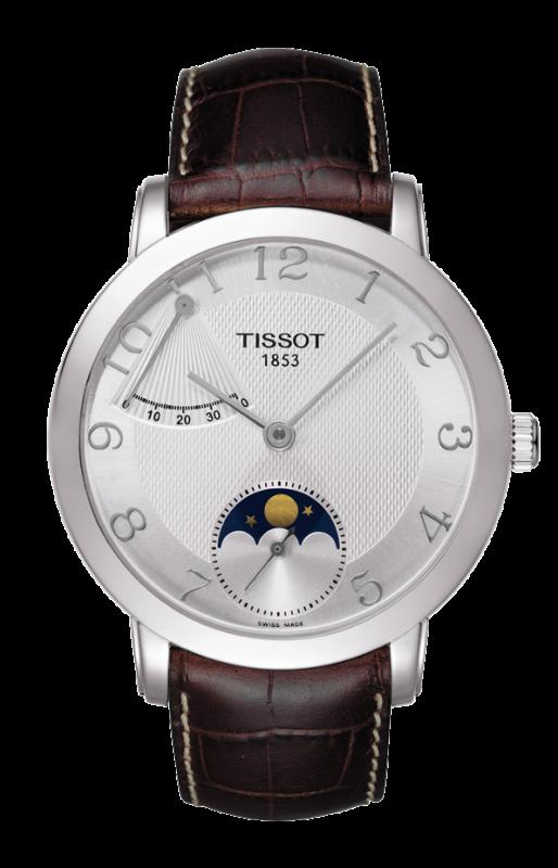 часы Tissot TISSOT SCULPTURE LINE MOONPHASE