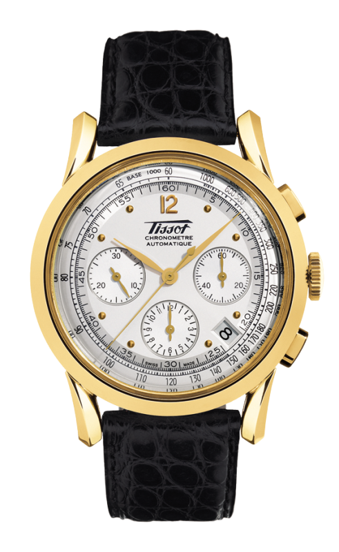 часы Tissot TISSOT HERITAGE 150TH ANNIVERSARY AUTOMATIC CHRONOGRAPH GOLD