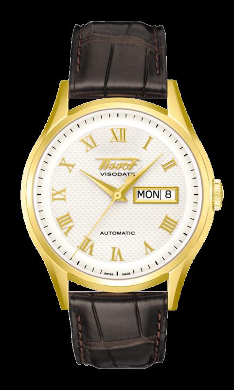 часы Tissot TISSOT HERITAGE VISODATE AUTOMATIC GOLD