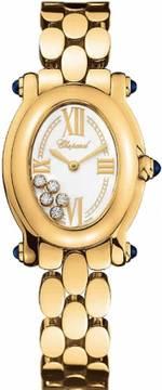 часы Chopard Happy Sport Oval 5 Floating Diamonds