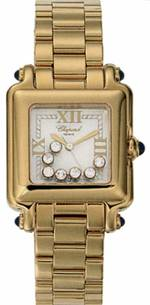часы Chopard Happy Sport Classic Square 7 Floating Diamonds