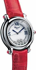 часы Chopard Happy Sport Classic Round 7 Floating Diamonds