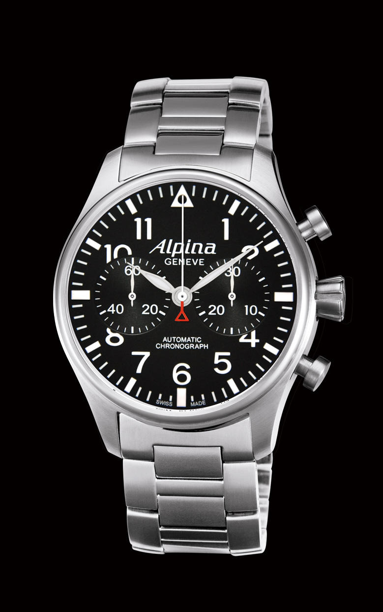 часы Alpina Aviation Chronograph