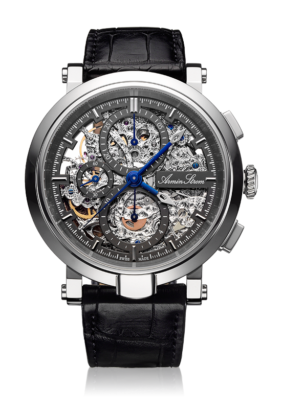 часы Armin Strom Blue Chip Chrono Skeleton