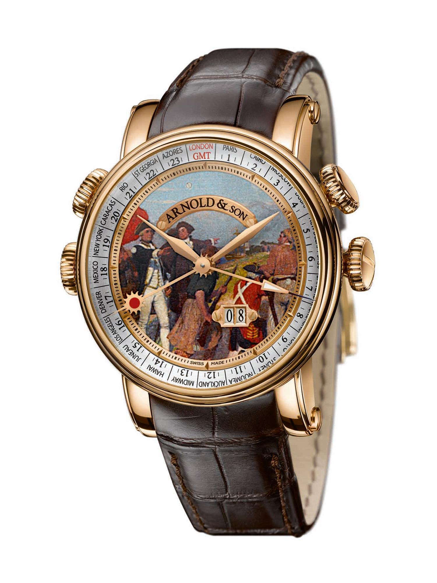 часы Arnold & Son Hornet James Cook Set