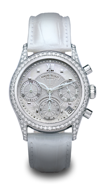 часы Armand Nicolet Chronograph & Date