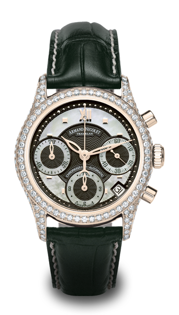 ���� Armand Nicolet Chronograph & Date