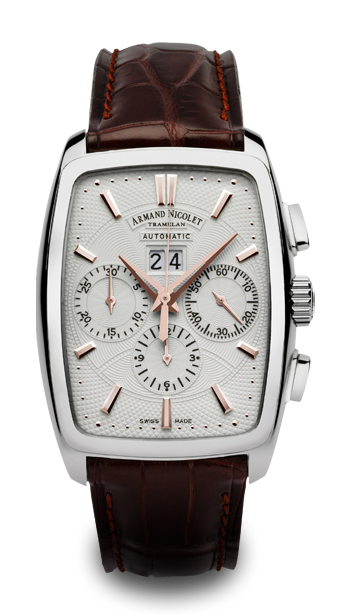 ���� Armand Nicolet Big Date and Chronograph