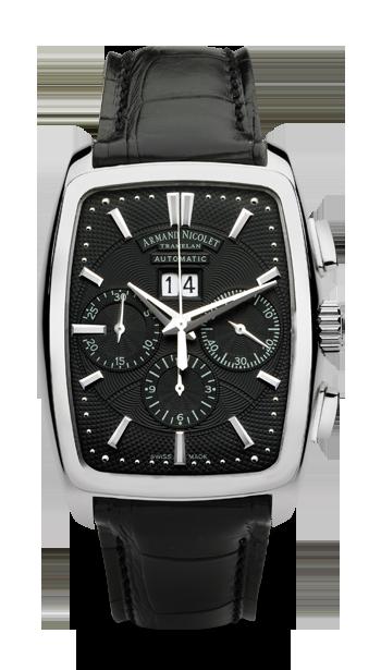 часы Armand Nicolet Big Date and Chronograph
