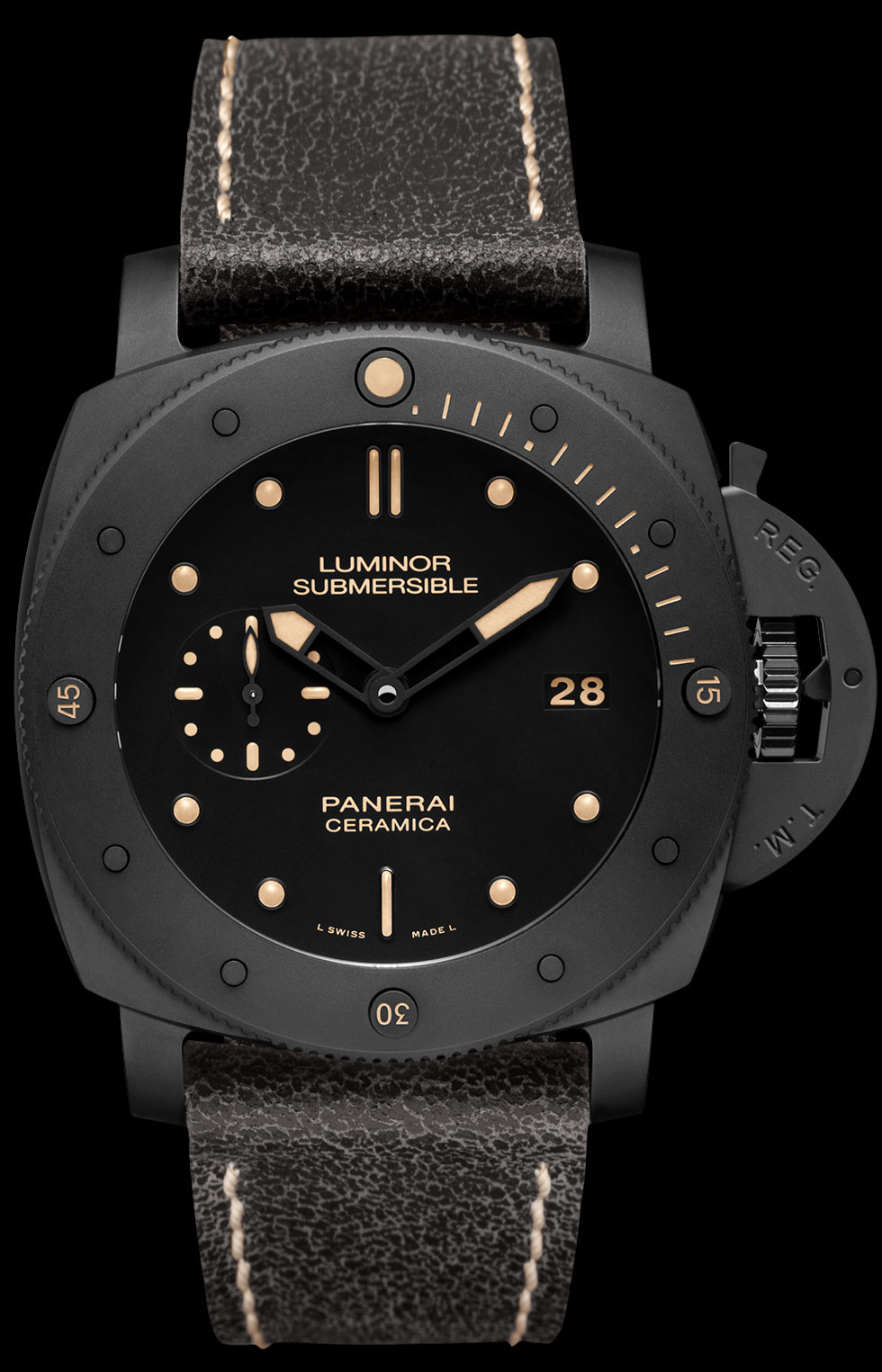 часы Panerai Panerai Luminor Submersible 1950 3 Days Automatic Ceramica