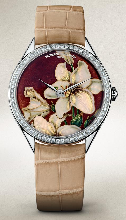 часы Vacheron Constantin Métiers d'Art Florilège White Lily