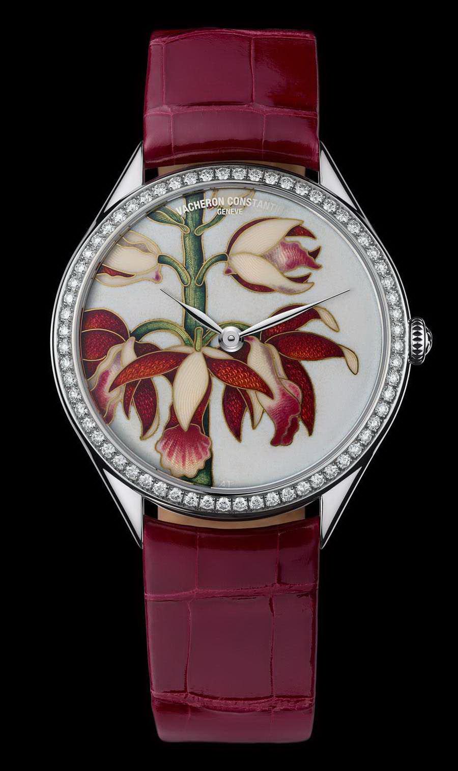 часы Vacheron Constantin Métiers d'Art Florilège China Limodoron