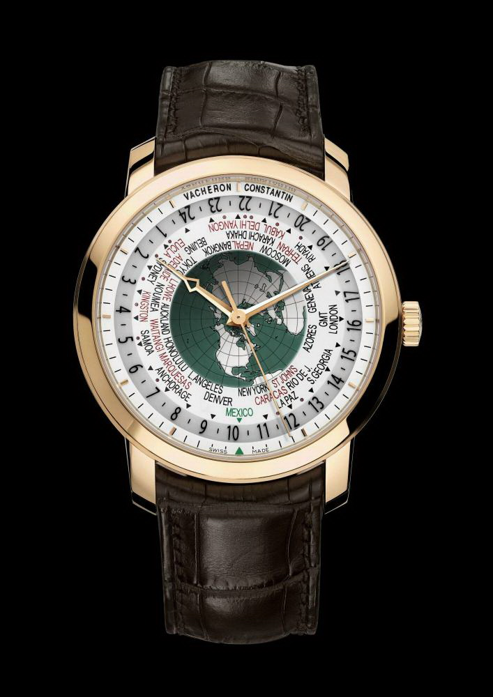 часы Vacheron Constantin Patrimony Traditionnelle World Time for Mexico