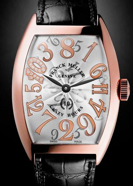 часы Franck Muller Crazy Hours 10th Anniversary