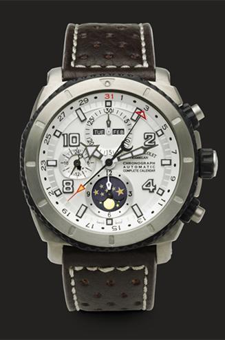 часы Armand Nicolet Chronograph and Complete Calendar