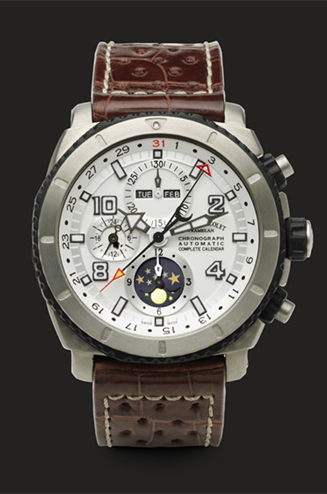 часы Armand Nicolet Chronograph and Complete Calendar
