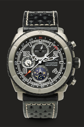���� Armand Nicolet Chronograph and Complete Calendar