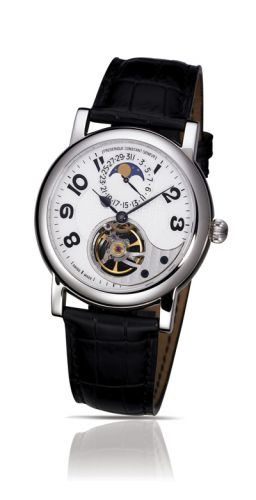 часы Frederique Constant Heart Beat Manufacture Moonphase - Date