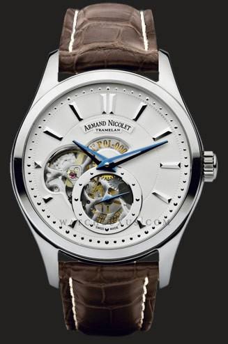 часы Armand Nicolet Steel with black deal