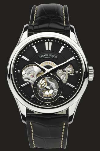 часы Armand Nicolet Black Dial