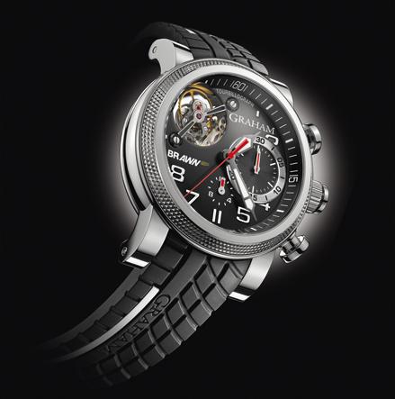 часы Graham Tourbillograph Trackmaster G-BGP-001