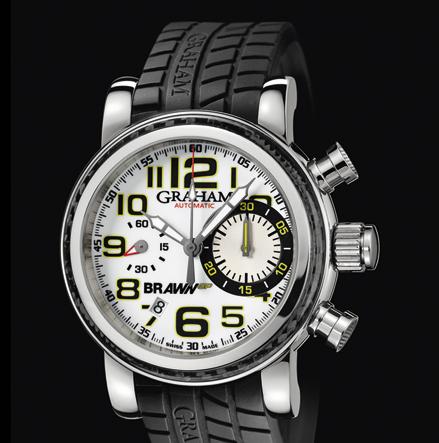 часы Graham Silverstone G-BGP-001 White