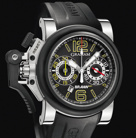 часы Graham Chronofighter Oversize G-BGP-001 Black