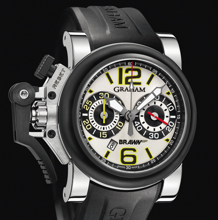 часы Graham Chronofighter Oversize G-BGP-001 White