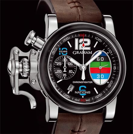 часы Graham CHRONOFIGHTER R.A.C. 6 NATIONS CELEBRATIONS