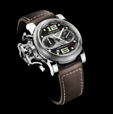 часы Graham Chronofighter R.A.C. Black Speed