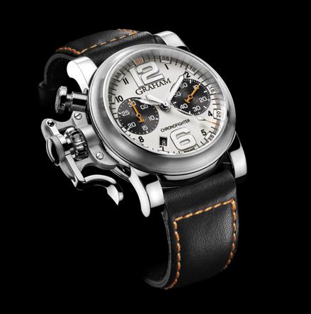 часы Graham Chronofighter R.A.C. Silver Fighter