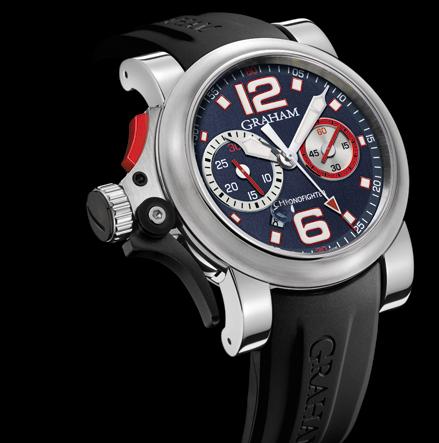 часы Graham Chronofighter R.A.C Trigger Graphite Rush