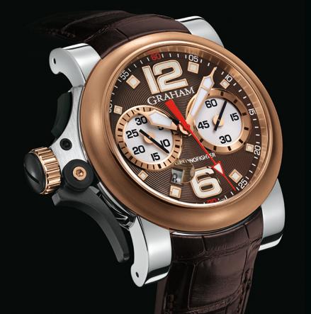 часы Graham Chronofighter R.A.C Trigger Havana Rush