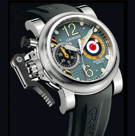 часы Graham Chronofighter Oversize Overlord Mark III