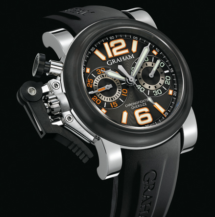 часы Graham Chronofighter Oversize Night Ranger