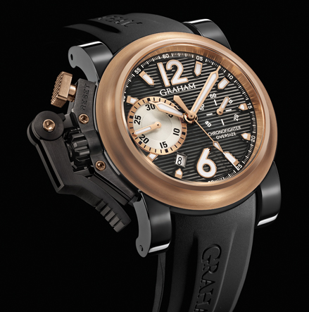 часы Graham Chronofighter Oversize Black Label