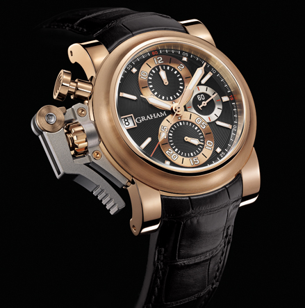 часы Graham Chronofighter Oversize Goldfinger Black