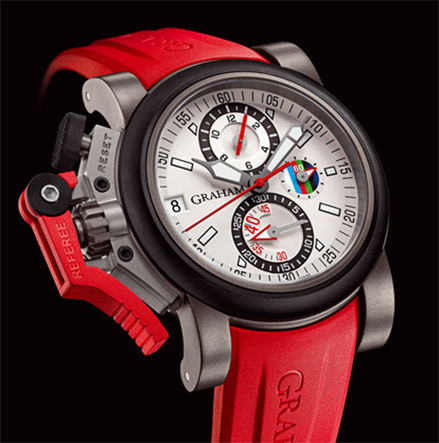 часы Graham CHRONOFIGHTER OVERSIZE REFEREE - WHITE DIAL
