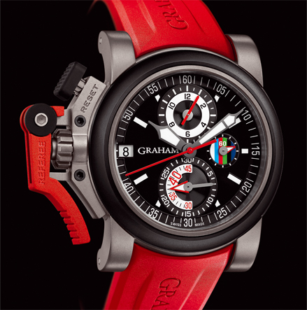 ���� Graham CHRONOFIGHTER OVERSIZE REFEREE - BLACK DIAL