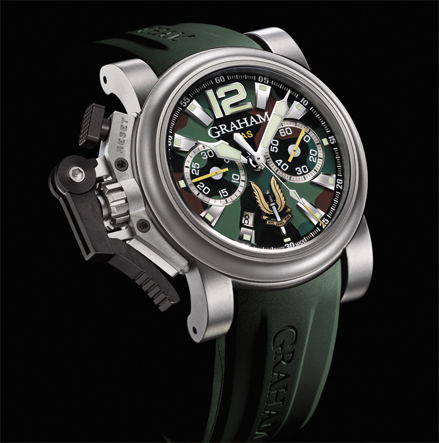 часы Graham Chronofighter Oversize Commando SAS