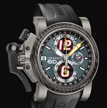 часы Graham Chronofighter Oversize Scott Dixon