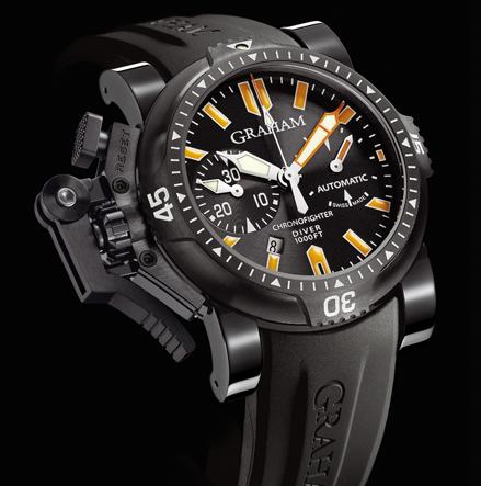 часы Graham Chronofighter Oversize Diver Deep Seal