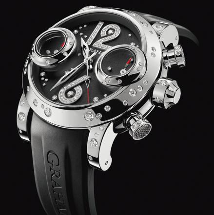 часы Graham Swordfish Lucy Steel / Black