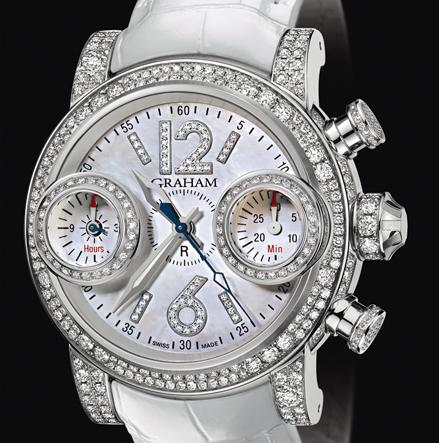часы Graham Swordfish PURE WHITE