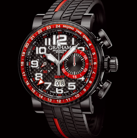 часы Graham Silverstone Stowe GMT Red
